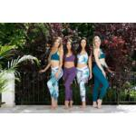 Venice soft fitness leggings, fekete (dupla rétegű fenékrésszel)