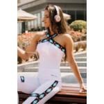 Mexico white Xéna fitness trikó, L