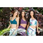Indigo style fitness top – Orchidea