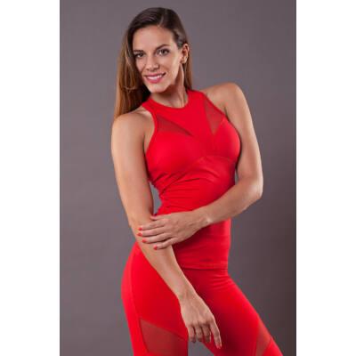 Pillangó trikó (kivehető szivaccsal), piros