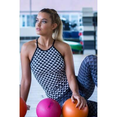 PRIZMA spagetti fitness trikó -belső toppal