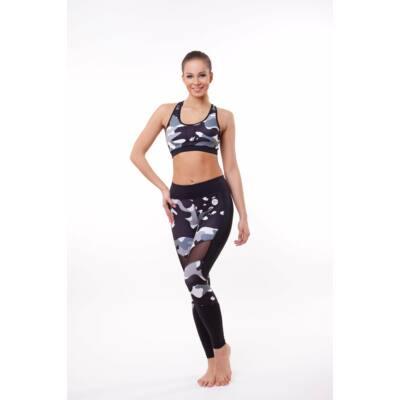 Amazon Héra fitness leggings, Rock (szürke)