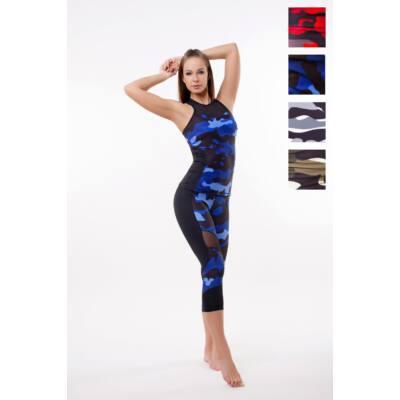 Amazon Héra fitness trikó -belső toppal, kivehető szivacsbetéttel, Ocean (kék)