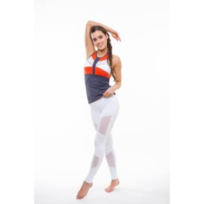 Mozaik Orange fitness trikó kivehető szivacsbetéttel, (M) - Kifutó