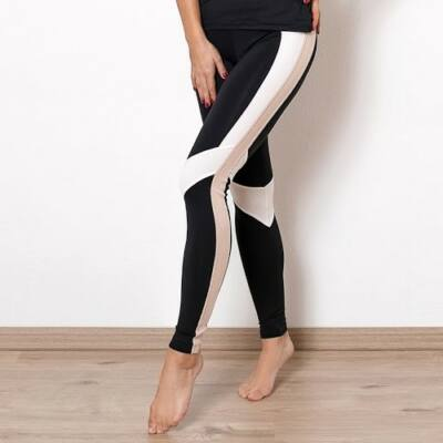 Indi-Go Rebirth fitness leggings, light beige