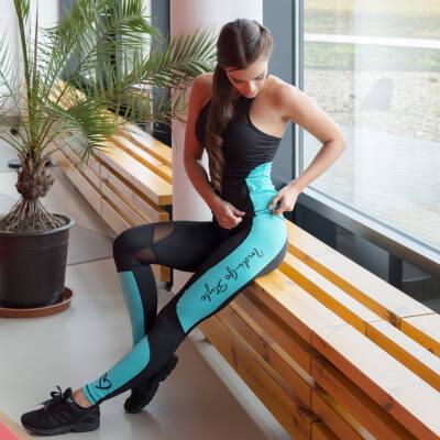 Héra Color fitness bokanadrág