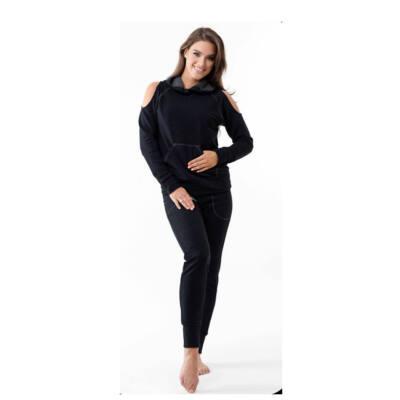Holey szabadidő ruha, fekete