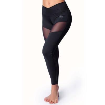 NINA fitness leggings, fekete