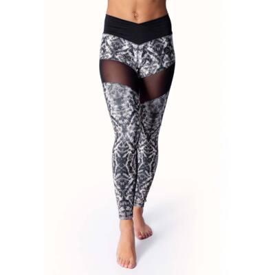 SNAKE BLACK fitness leggings