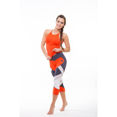 Szandra trikó (kivehető szivacsbetéttel), narancssárga (M) - Kifutó