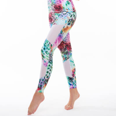 Tropical Tina Fitness leggings