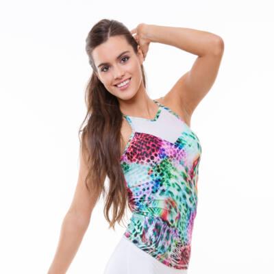 Tropical Tina fitness trikó