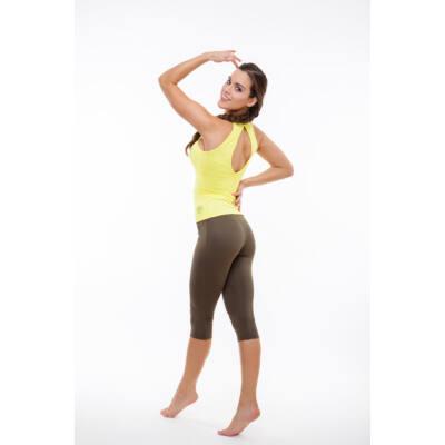 Szandra trikó (kivehető szivacsbetéttel), citromsárga (M) -Kifutó