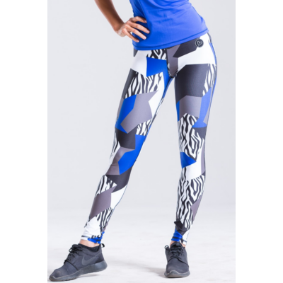 Zebra-mix leggings