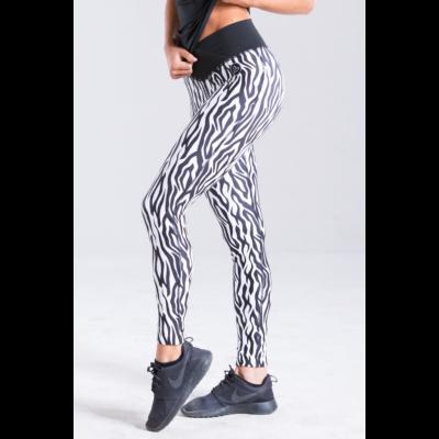 Zebra fitness leggings