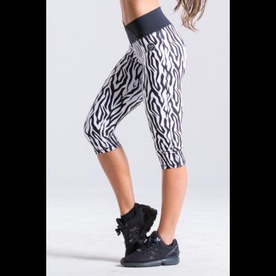 Zebra fitness térdnadrág