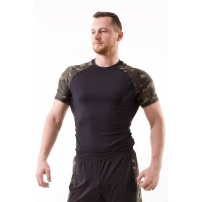 Strong Body CAMO rövid ujjú edző felső