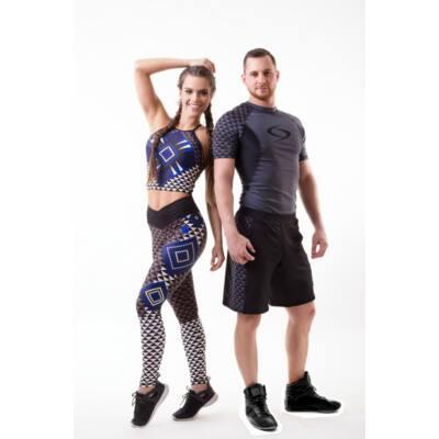 Strong Body PRIZMA rövid ujjú edző felső