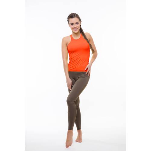Narancssárga fitness trikó Szidónia