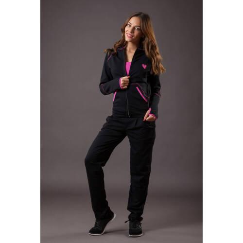 9867fcc765 Patrícia Futter Ruha fekete-pink 'S' - Szabadidő ruhák