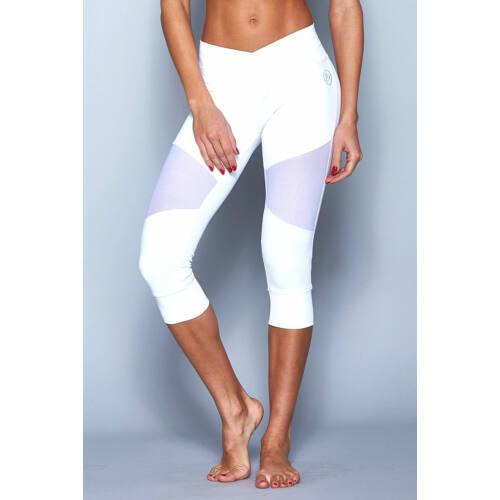 Indigo Fitness Style - Tina térdnadrág, fehér