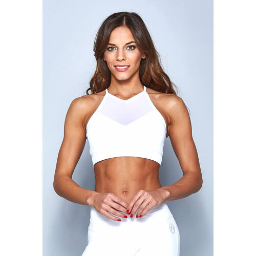 Indigo Fitness Style - Tina top, fehér