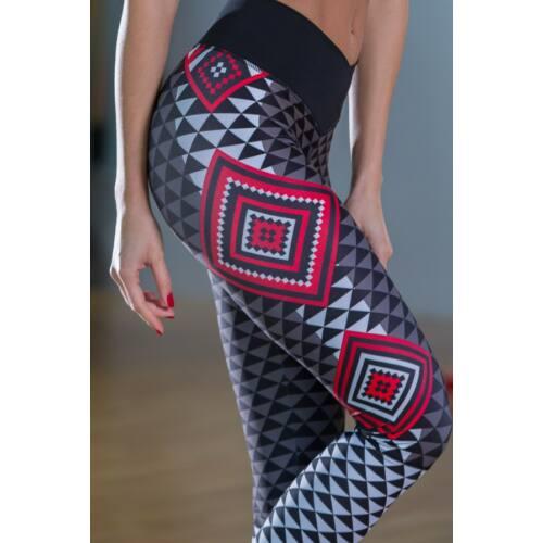 AZTÉK RED fitness leggings
