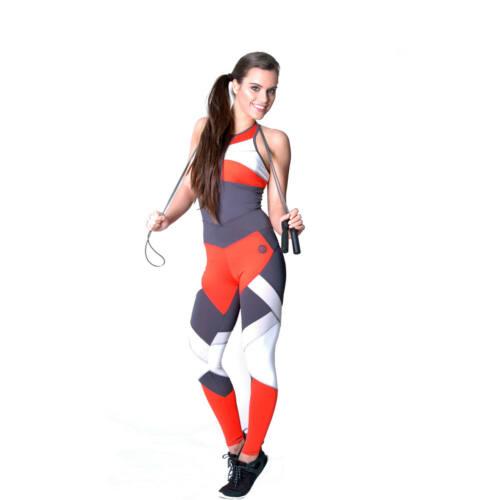 Mozaik Orange fitness leggings