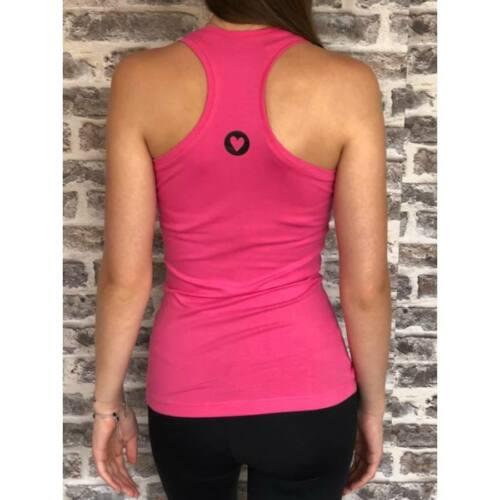 Basic birkózó trikó, rózsaszín L (pamut)