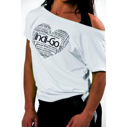 Maggie felső fehér-fekete  M  - Rövid ujjú felsők 5e6ebe752e