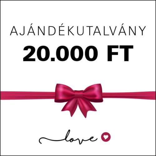 20000Ft utalvány