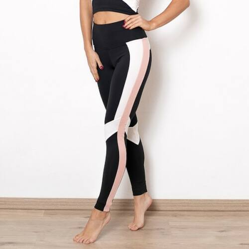 Indi-Go Rebirth fitness leggings, púder 'S'