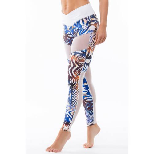 Africa Sky fitness leggings, M