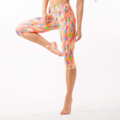Colorfull fitness térdnadrág