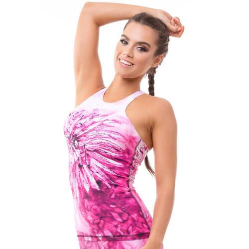 Harmony Pink jóga trikó, S