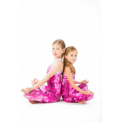 Kids Harmony Pink fitness trikó, 134-140