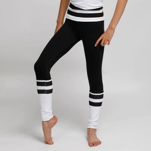 Kids Lara white fitness leggings