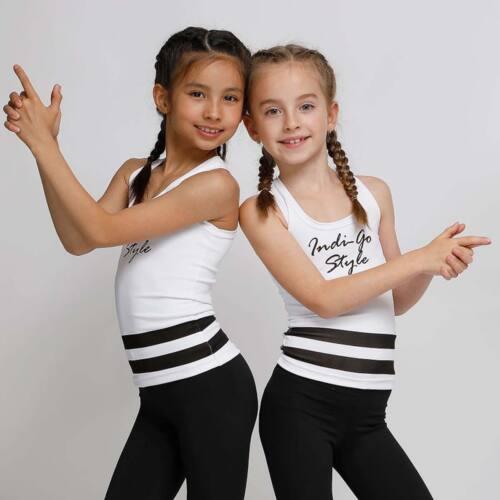 Kids Lara white fitness trikó