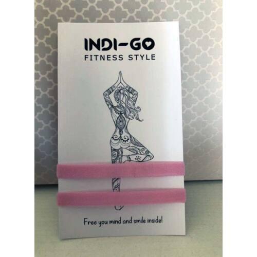 Indigo Hajgumi szett, pink