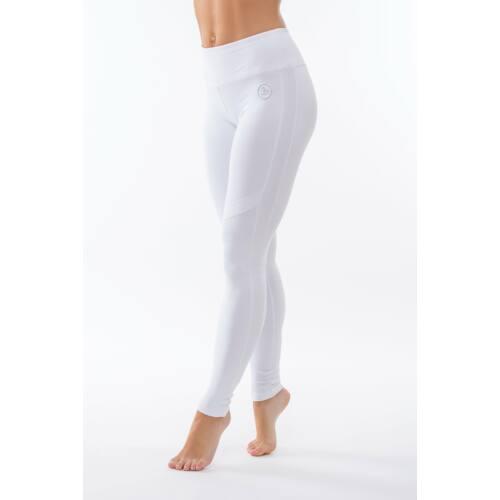 Indigo Fitness Style - Réka fitness leggings, fehér