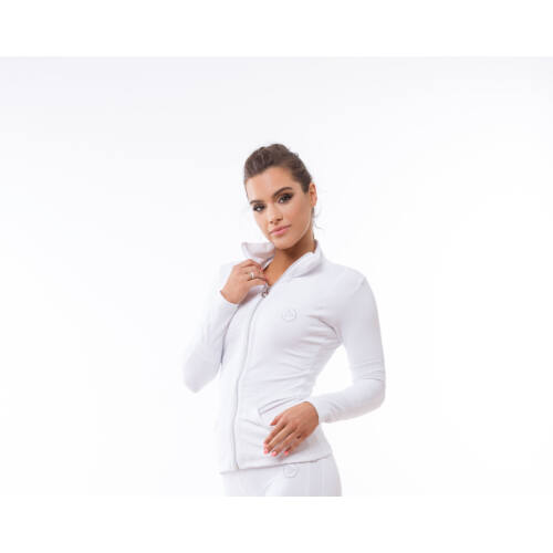 Indigo Fitness Style - Réka fitness hosszú ujjú felső, fehér