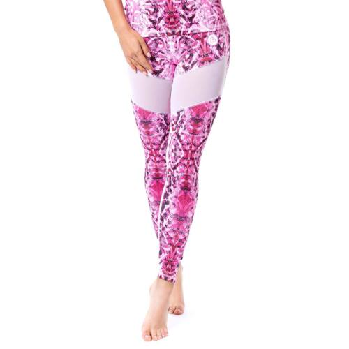 Indigostyle fitness leggings – Snake Pink