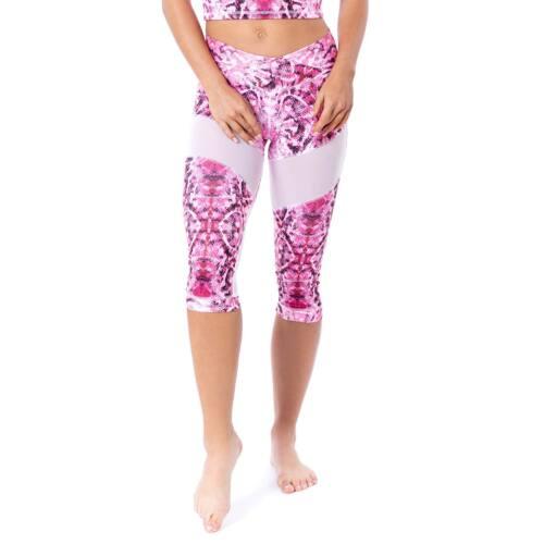 Indigostyle fitness térdnadrág – Snake Pink