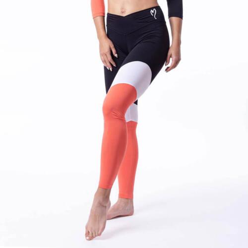 Timella korall fitness leggings