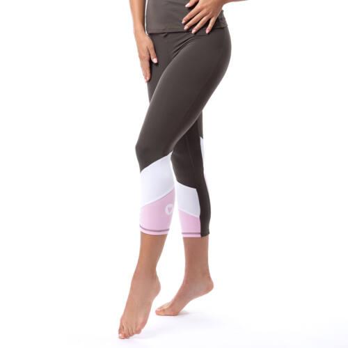 Indigostyle fitness capry – Tricolor khaki