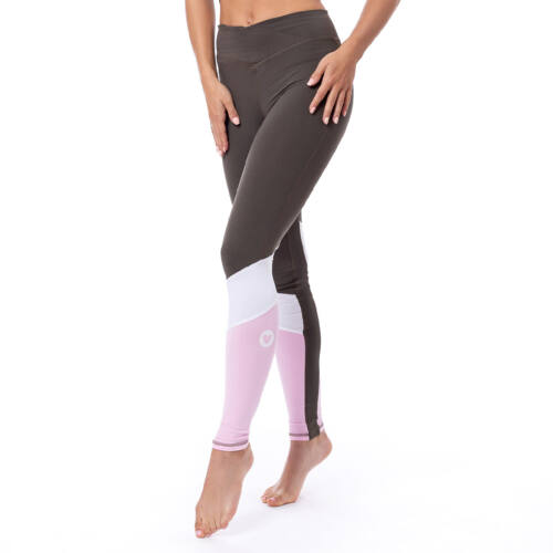 Indigostyle fitness leggings – Tricolor khaki