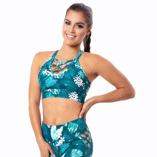Indigostyle fitness top – Tropical Cross