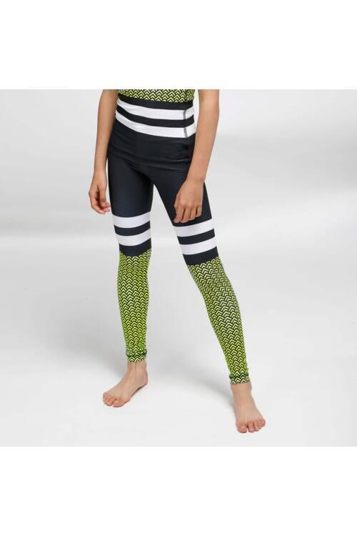 Kids Scaly neon fitness leggings