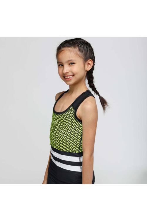 Kids Scaly neon fitness trikó