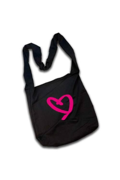 Indigo Fitness Style – Indigo Táska, magenta szívvel